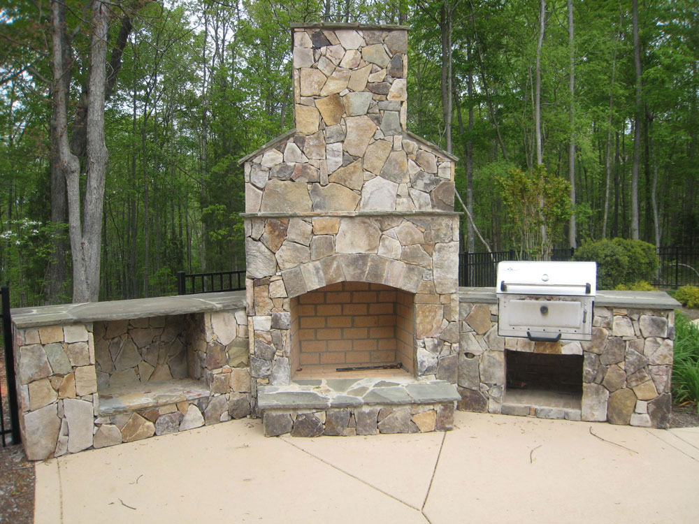 Linker Masonry Linker Masonry Outdoor Kitchens And Fireplaces Gallery